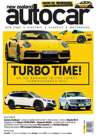 New Zealand Autocar (NZ) magazine cover