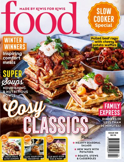 Food Magazine (NZ) cover
