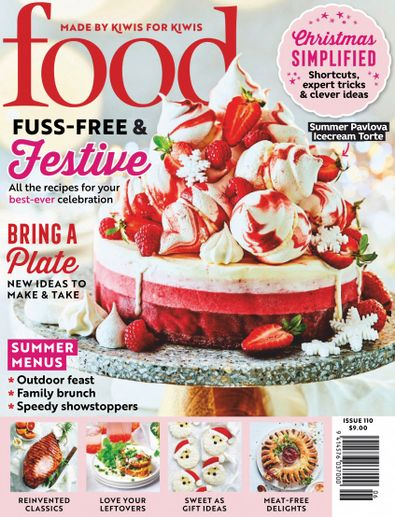 Food Magazine (NZ) cover