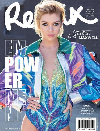REMIX Magazine (NZ) cover
