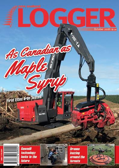 NZ Logger (NZ) magazine cover