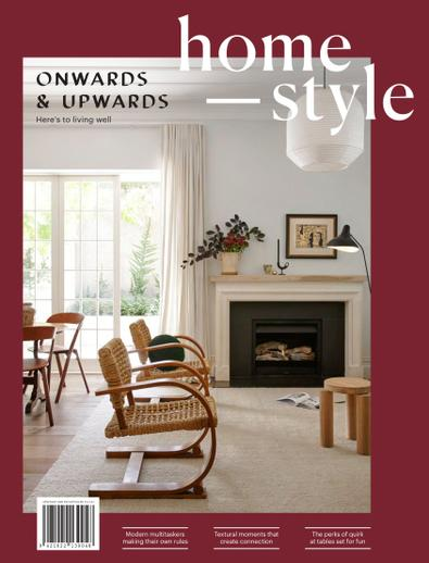 homestyle (NZ) magazine cover