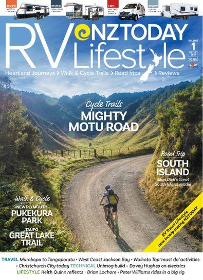 RV Travel Lifestyle (NZ) magazine cover