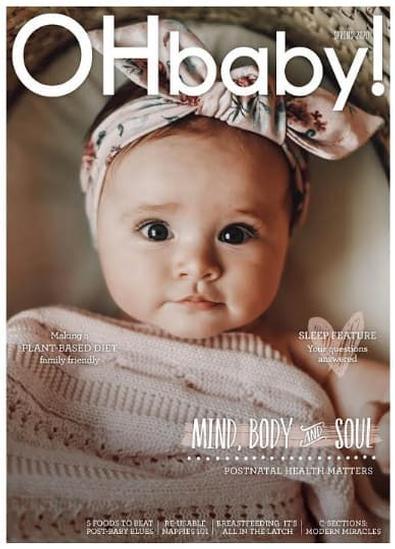 OHbaby! Magazine (NZ) cover