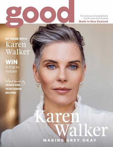 Good (NZ) magazine cover