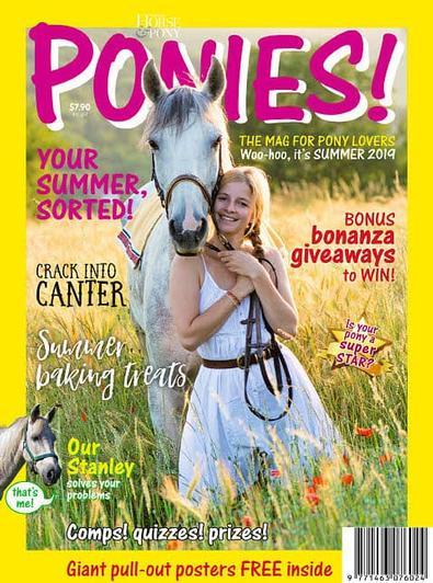 PONIES! (NZ) magazine cover