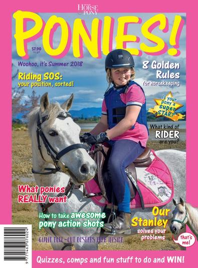 PONIES! (NZ) magazine cover