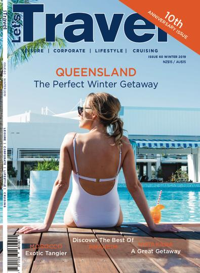 Let's Travel (NZ) magazine cover