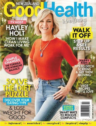 Good Health & Wellbeing (NZ) magazine cover