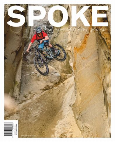 Spoke: The Mountain Bikers Journal (NZ) magazine cover