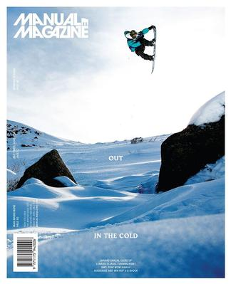Manual: Skateboarding and Snowboarding (NZ) magazine cover