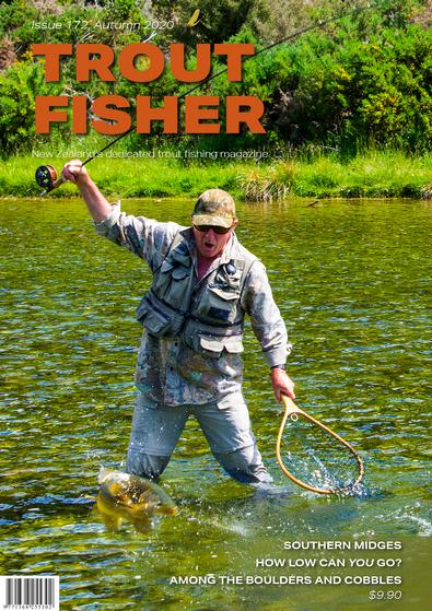 Trout Fisher (NZ) magazine cover