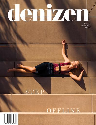 Denizen (NZ) magazine cover