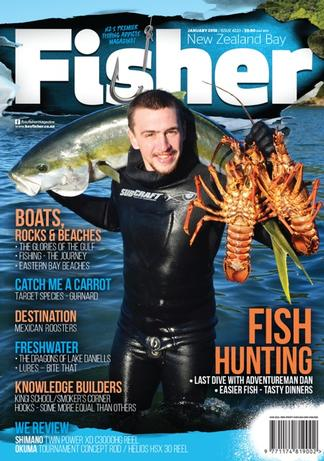 NZ Bay Fisher (NZ) magazine cover