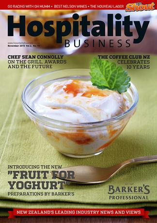 Hospitality Business (NZ) magazine cover
