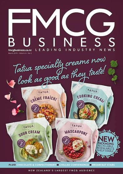 FMCG Business (NZ) magazine cover