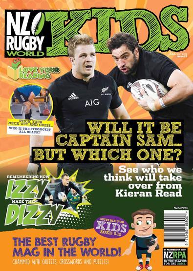 NZ Rugby World Kids (NZ) magazine cover