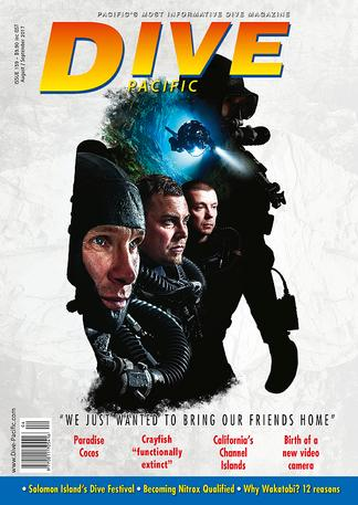 Dive Pacific (NZ) magazine cover