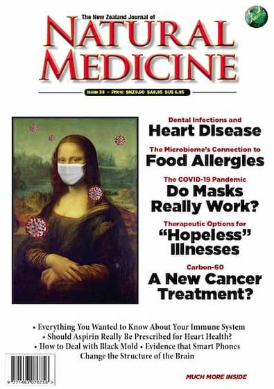 The New Zealand Journal of Natural Medicine (NZ) magazine cover