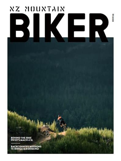 NZ Mountain Biker Magazine (NZ) cover