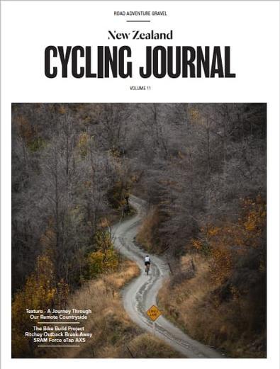 NZ Cycling Journal (NZ) magazine cover