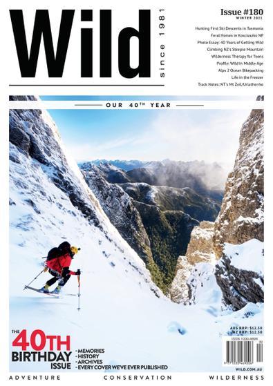 Wild magazine cover