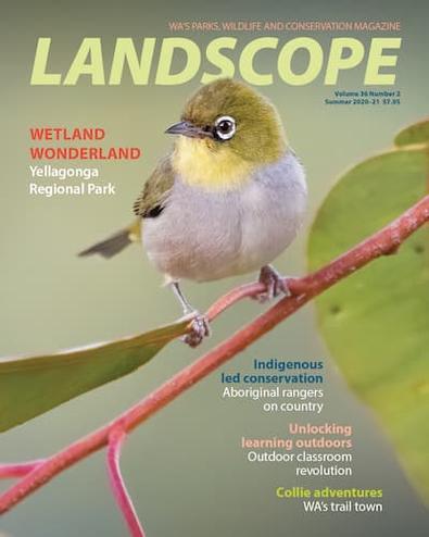 LANDSCOPE magazine cover