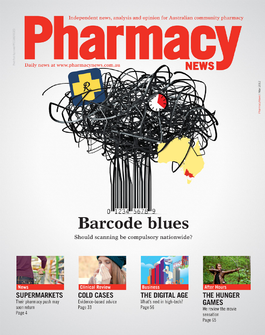 Pharmacy News magazine cover