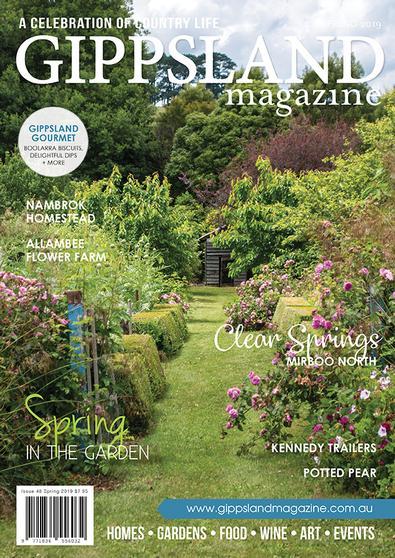 Gippsland Country Life Magazine cover
