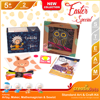CreativKits for kids (2 Craft Activities/ month) cover