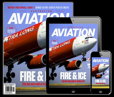 Australian Aviation magazine cover