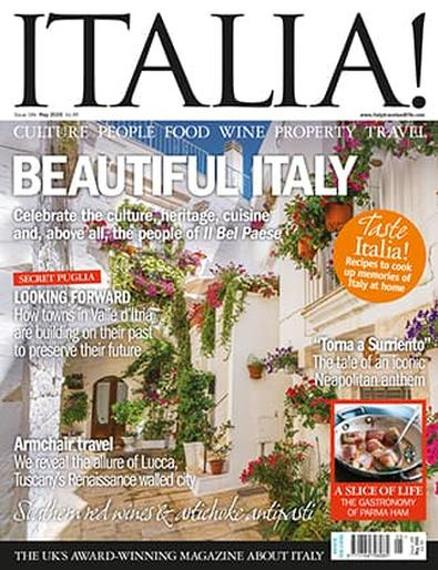 ITALIA! (UK) magazine cover