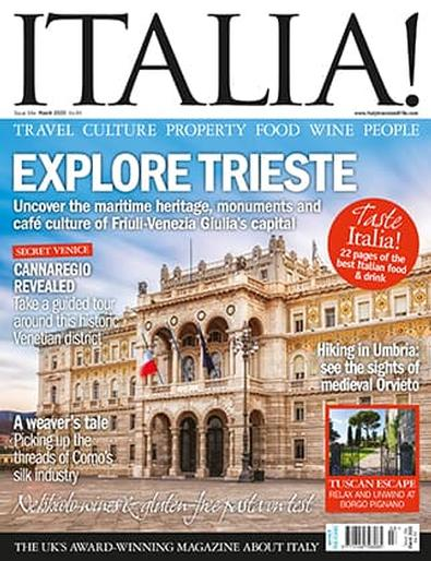 ITALIA! (UK) magazine cover
