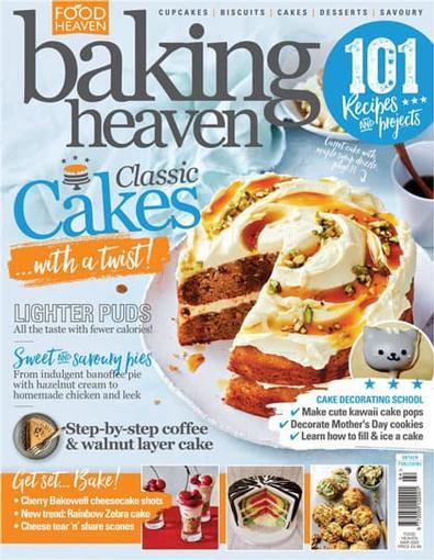 Baking Heaven (UK) magazine cover