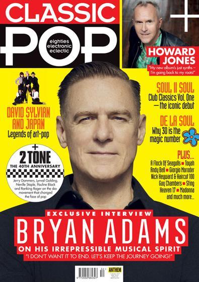 Classic Pop (UK) magazine cover