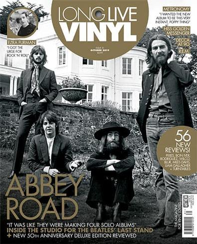 Long Live Vinyl (UK) magazine cover
