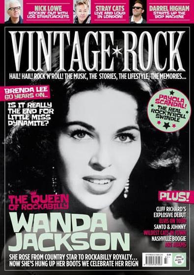 Vintage Rock (UK) magazine cover