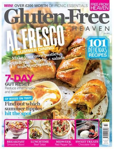 Gluten-Free Heaven magazine cover