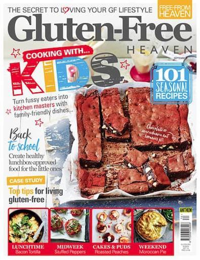Gluten-Free Heaven (UK) magazine cover