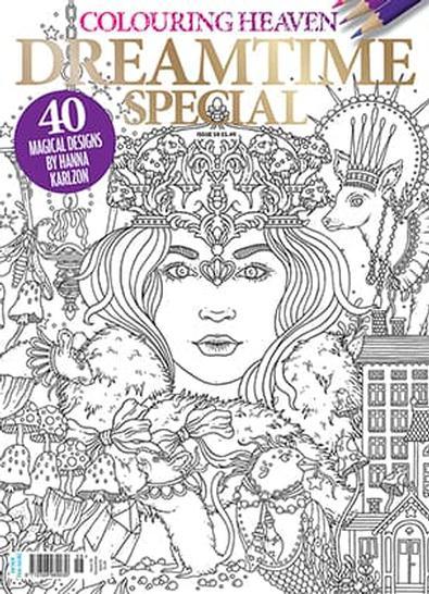 Colouring Heaven (UK) magazine cover