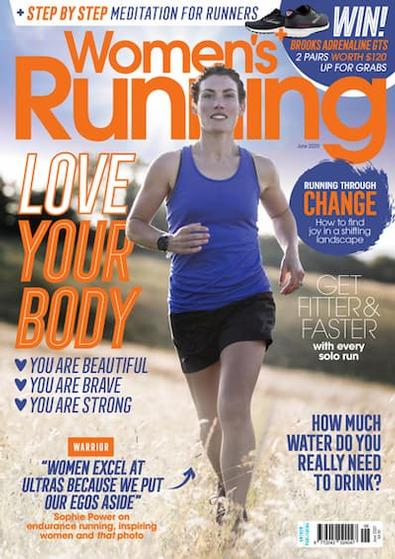 Women's Running (UK) magazine cover