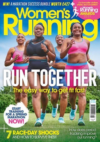 Women's Running (UK) magazine cover
