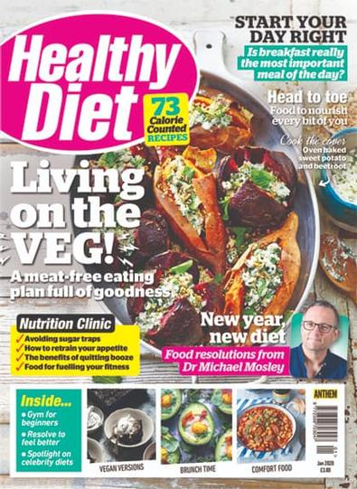 Healthy Diet (UK) magazine cover