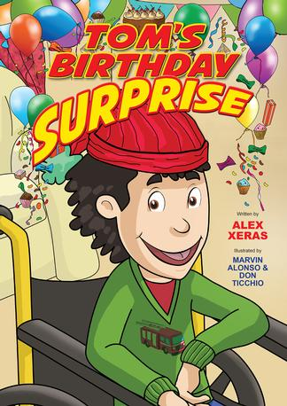 Tom's Birthday Surprise cover