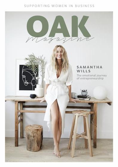 Oak Magazine cover