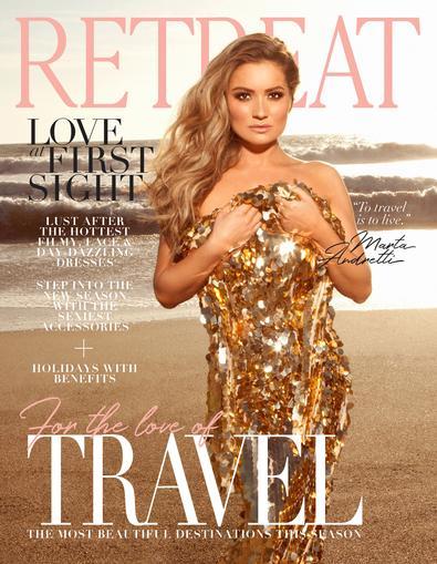 RETREAT Magazine cover