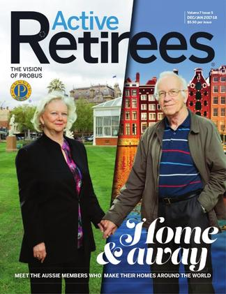 Active Retirees magazine cover