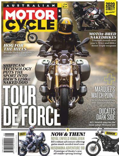 Australian Motorcycle News magazine cover