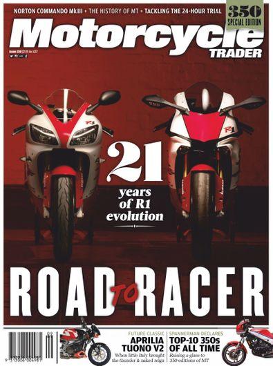 Motorcycle Trader magazine cover