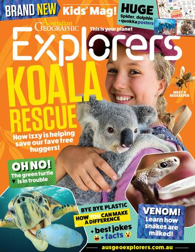 Australian Geographic Explorers magazine cover